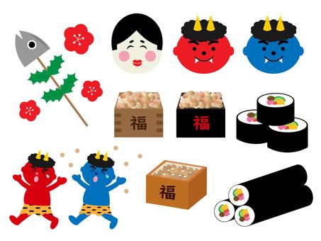 Illustration of Setsubun