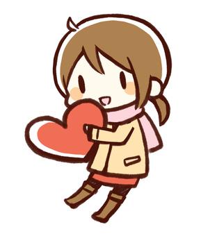 Heart girls