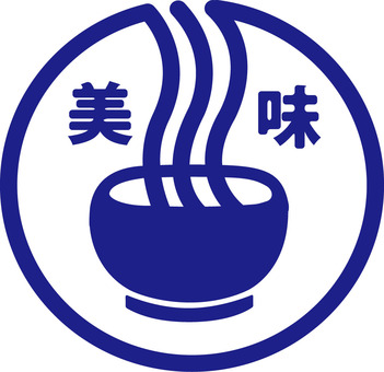 Udon, ramen, noodles etc. Noodle type mark