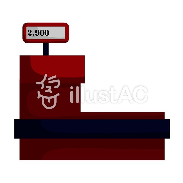 レジスターイラスト No 1050356無料イラストならイラストac