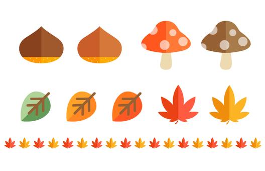 Variety of autumn