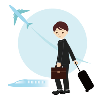 Image of a business trip / single assignment
