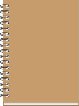 W ring notebook
