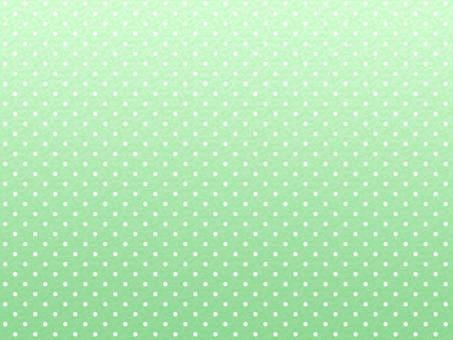 Polka dot (green)