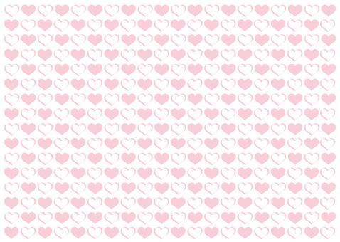 Heart mark wallpaper background material ♡ heart type