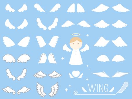 天使の羽(翼)セット