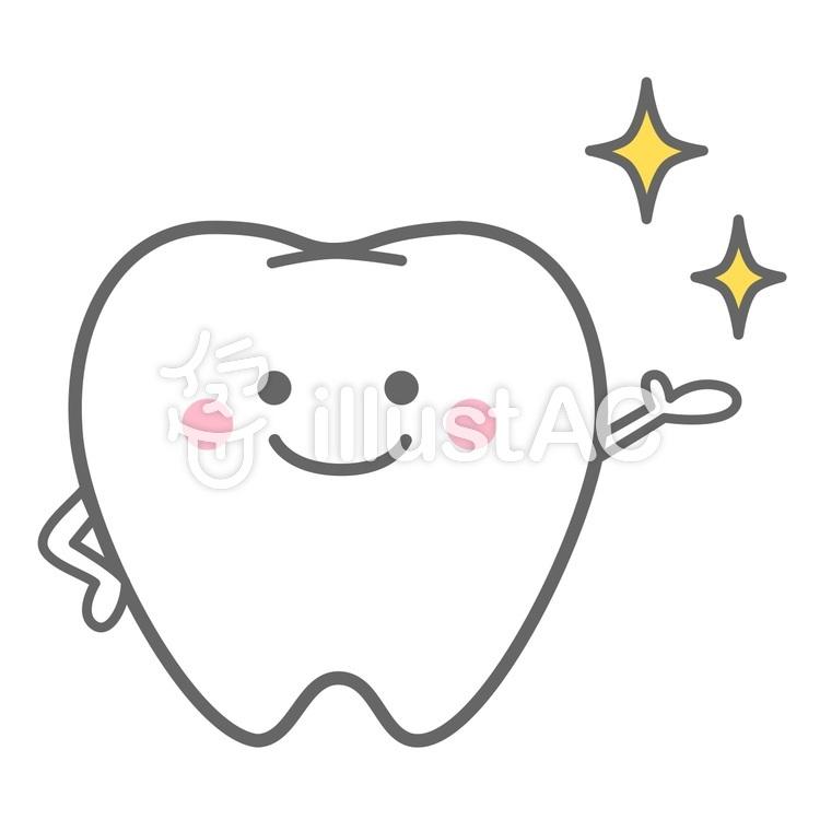 銀歯のキャラクター歯科素材com歯医者さん向け無料イラスト