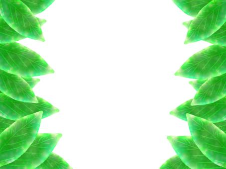 Leaf left and right frame