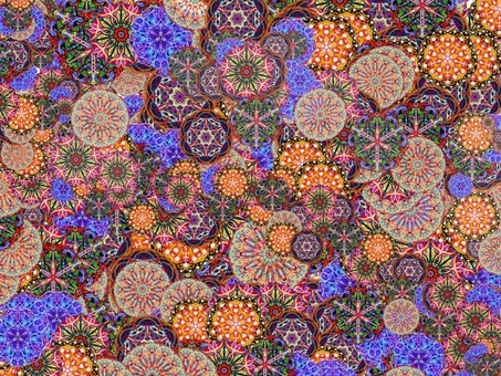 Texture background material Kaleidoscope