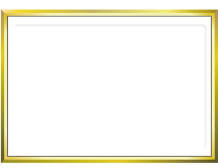 簡單的金色框架