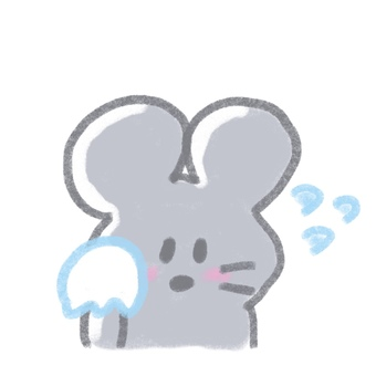 Mouse sweating
