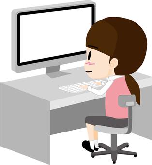 컴퓨터 (여성)