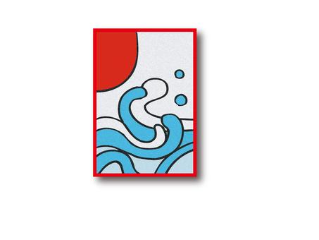 A flower card