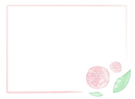 Watercolor rose _ pink