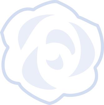 Simple rose white