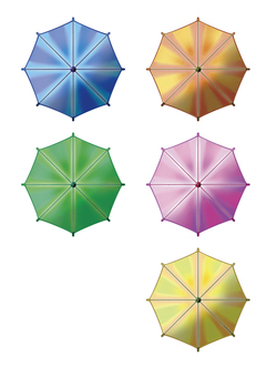 Umbrella set 002