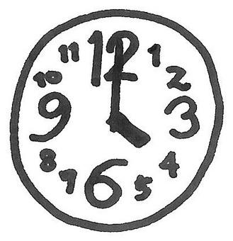 Clock time clock