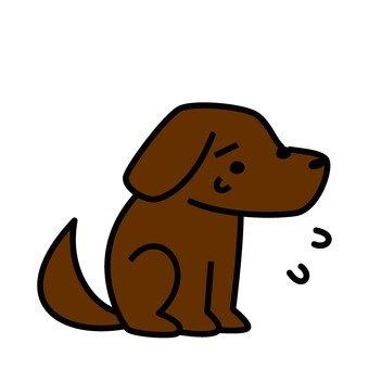 Sorrowful dog 3