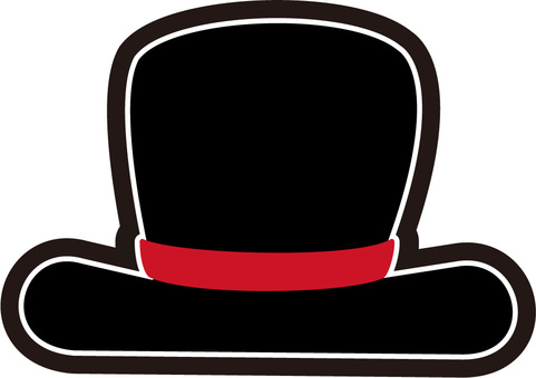 Silk hat illustration 5