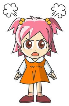 Girl - Anger 6