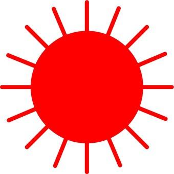 Sun (red)