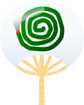 Fan Club / picture of mosquito coil