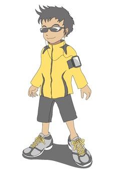 Runner Yellow