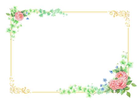 Rose frame ★ 0131-R