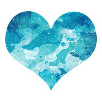 Watercolor Heart 2