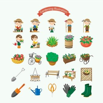 Gardening Illustration