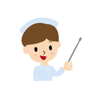 Nurse to explain