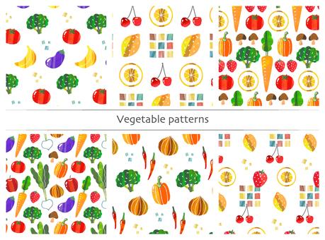 野菜果物パターン