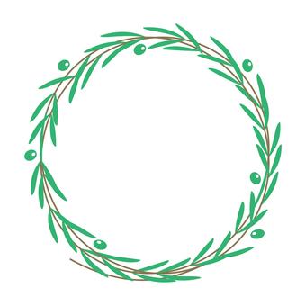 Olive wheel