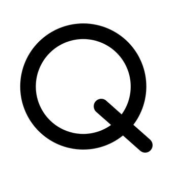 Quintile Black Astrology Symbol