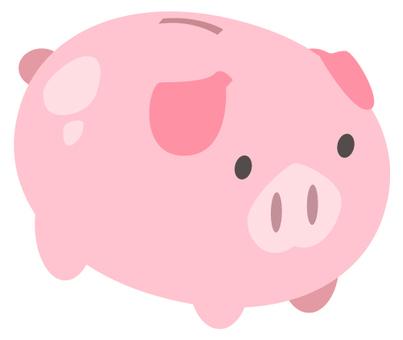 Pig piggy bank