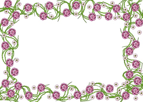 Rose frame