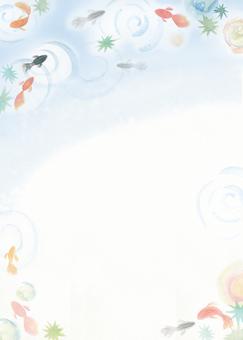 金魚背景2
