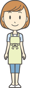 Apron youth Bob-267-whole body