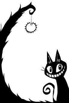 Black Cat Frame 1