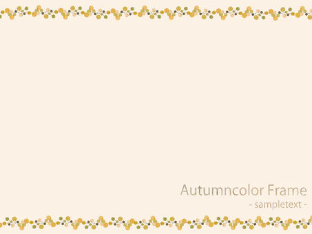 Autumn color frame 75