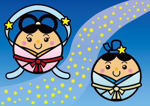 Tanabata 02_02 (The Milky Way, Orihime, Hikoshi)