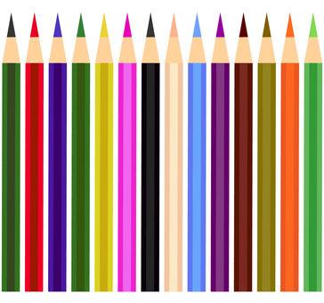 Pencil color pencil set