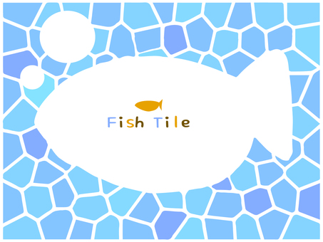 Light blue tile (fish)