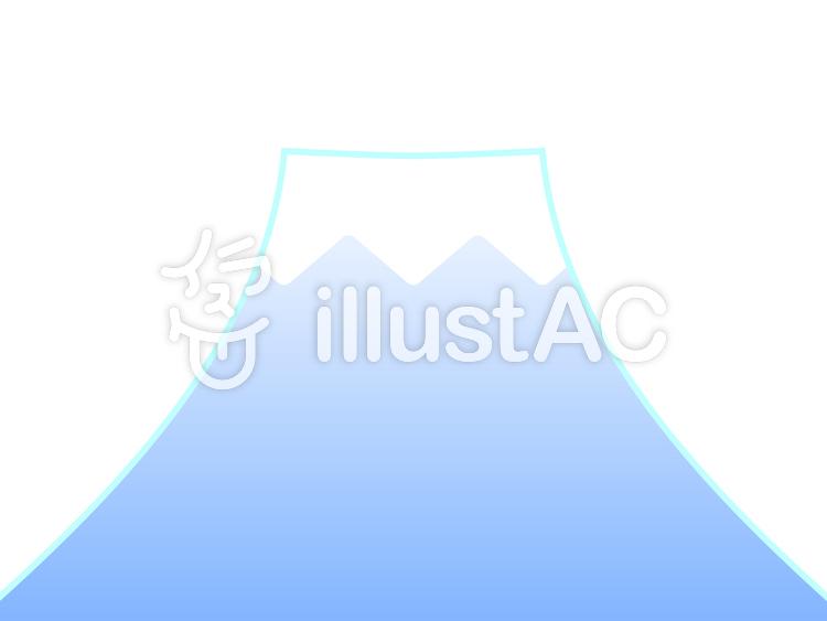 富士山 1イラスト No 106914無料イラストならイラストac