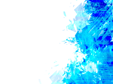 Arka plan geometrisi Mavi
