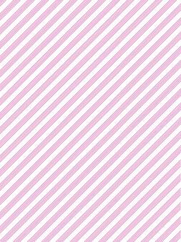 Pink color diagonal score