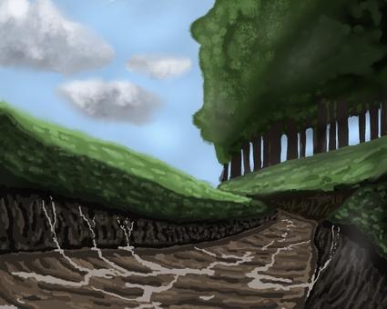 Mountain path 001