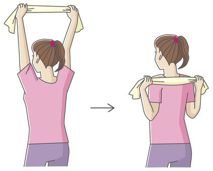 Towel stretch_a