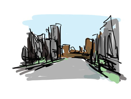 Landscape material