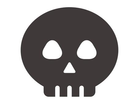 Halloween icon _ skeleton